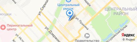 Хабаровское городское общество охотников и рыболовов на карте Хабаровска
