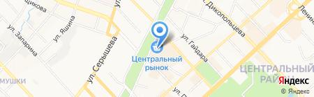 Магазин женской одежды на карте Хабаровска