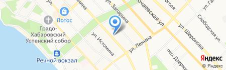 Микротест-ДВ на карте Хабаровска