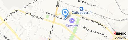 ДВмаркетинг на карте Хабаровска