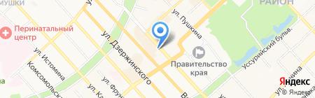 Кондиционеры и вентиляция на карте Хабаровска