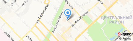 Скандик на карте Хабаровска