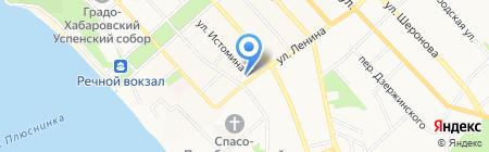 ТриЯ на карте Хабаровска