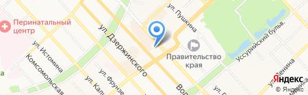 Дальневосточное аэрогеодезическое предприятие на карте Хабаровска