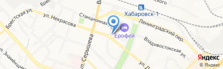 ExclusiveDV на карте Хабаровска