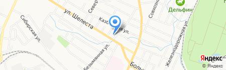 Сфера на карте Хабаровска