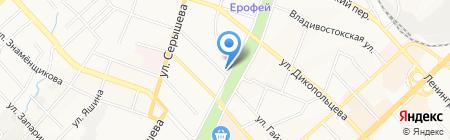 ХГАЭП на карте Хабаровска
