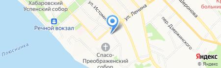 Медтехника на карте Хабаровска