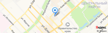 Стиль-Купе на карте Хабаровска