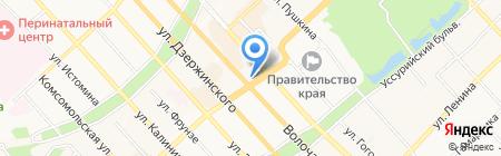 МегаФон на карте Хабаровска
