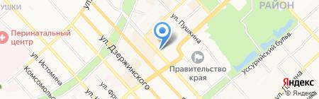 Дальневосточная телекоммуникационная компания на карте Хабаровска