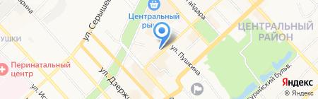 Банк ВТБ24 на карте Хабаровска