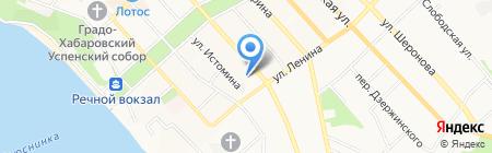 Штрих-код на карте Хабаровска