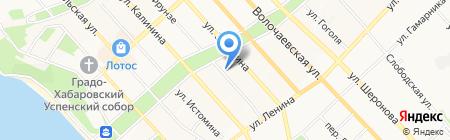 Каруселька на карте Хабаровска