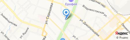 Хмель да Солод на карте Хабаровска
