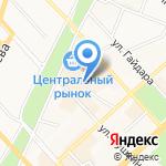 Коко Пальм на карте Хабаровска