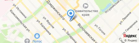 ДуартСтройСервис на карте Хабаровска