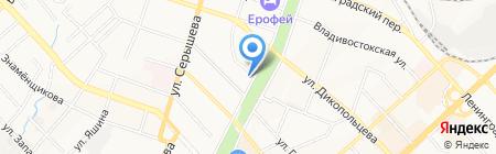 Canon на карте Хабаровска