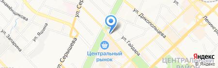 ОфМаг на карте Хабаровска