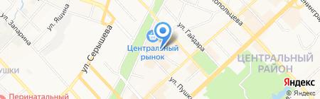 Твое право на карте Хабаровска