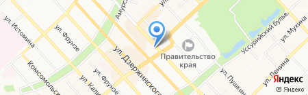 Армада Принт на карте Хабаровска