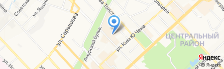 Позитив на карте Хабаровска