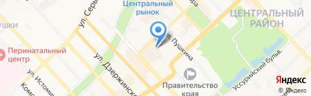 Бизнес-Просвещение на карте Хабаровска