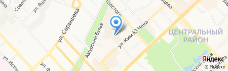 Русский размер на карте Хабаровска