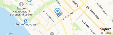 Пивная борода на карте Хабаровска