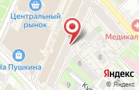 Схема проезда до компании Европа в Хабаровске