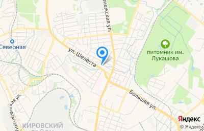 Местоположение на карте пункта техосмотра по адресу г Хабаровск, ул Безымянная, д 32