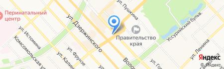 Coffee Point на карте Хабаровска