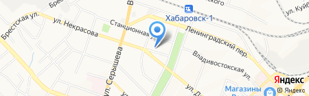 Оксалайн ДВ на карте Хабаровска