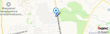 ДВ Проект на карте Хабаровска