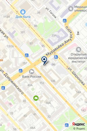 ТФ БАГИРА на карте Хабаровска