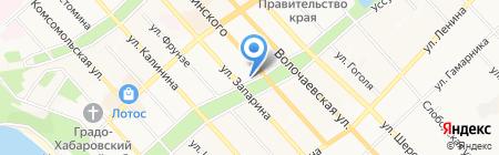 Terrassa на карте Хабаровска