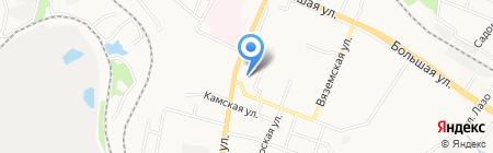 Сеть аптек на карте Хабаровска