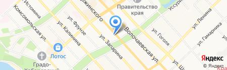 Мама на карте Хабаровска