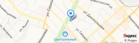 Халяль на карте Хабаровска