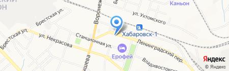 ГЕлиз на карте Хабаровска