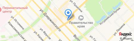 Кожа Люкс на карте Хабаровска