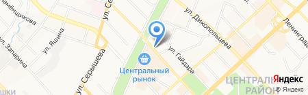 Цветы от Натали на карте Хабаровска