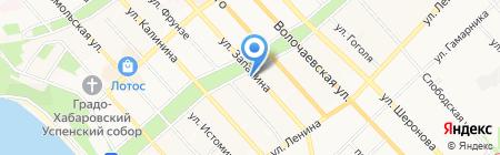 Мега-Строй на карте Хабаровска
