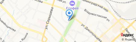 Винсент Ван Гог на карте Хабаровска