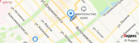 СИТИЛАБ на карте Хабаровска