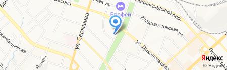 Зоомагазин на карте Хабаровска