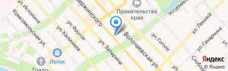 Дочки-Сыночки на карте Хабаровска