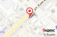 Схема проезда до компании Хабаровские Вести в Хабаровске