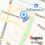 Тепло Флоор на карте Хабаровска