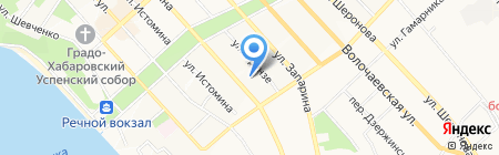 Спортивный комиссионный магазин на карте Хабаровска